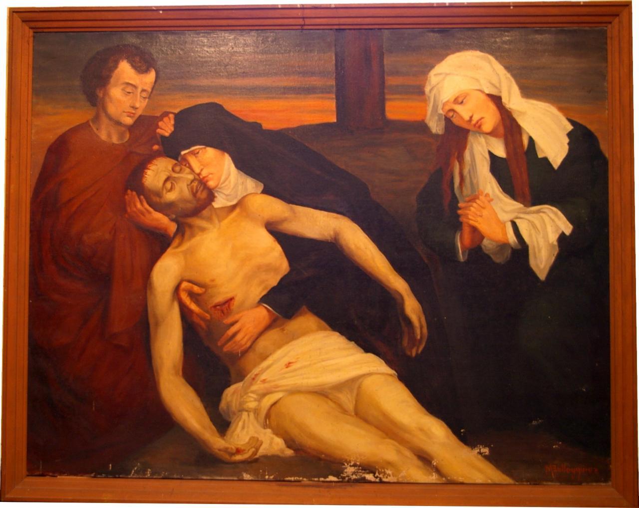 Quetigny, église : Lamentation