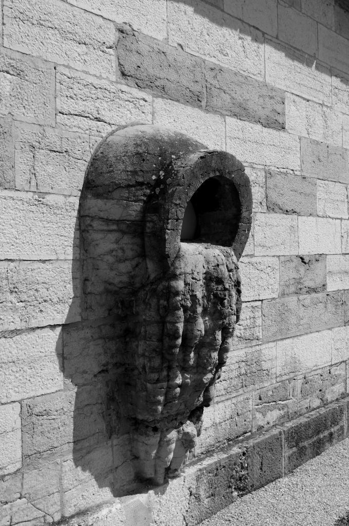 Sculpture dans le mur