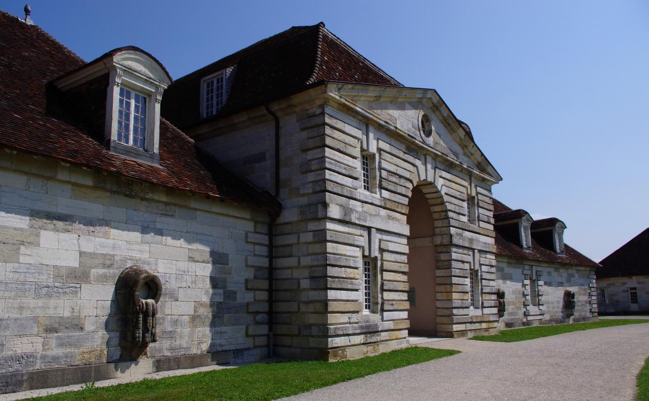 Le pavillon d'entrée (intérieur)