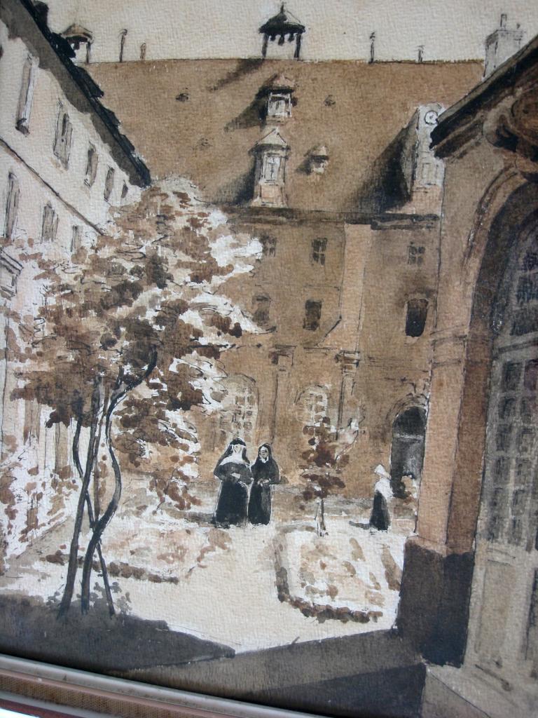 Abbaye-aux-bois. Sanguine