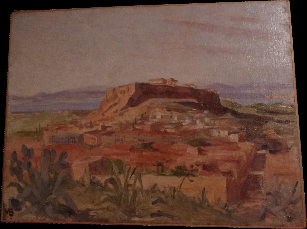 Athène, l'Acropole 1913