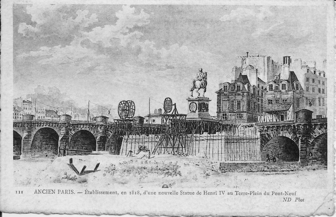 Carte postale 1818