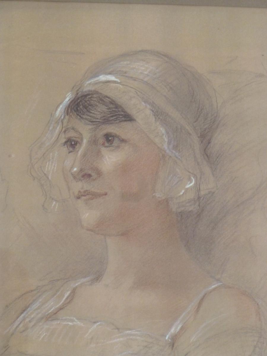 Cécile Balleyguier-Renard vers 1924