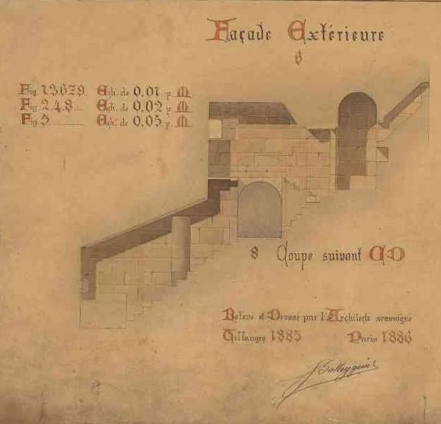 Plan du projet de reconstruction