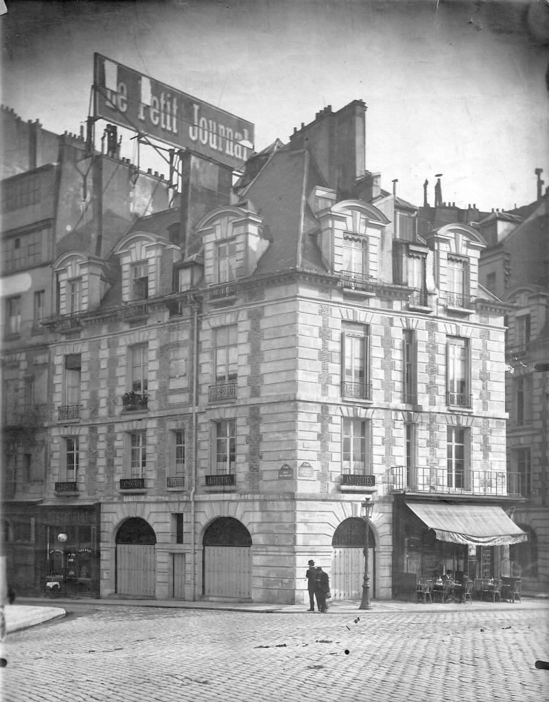 Après restauration en 1910