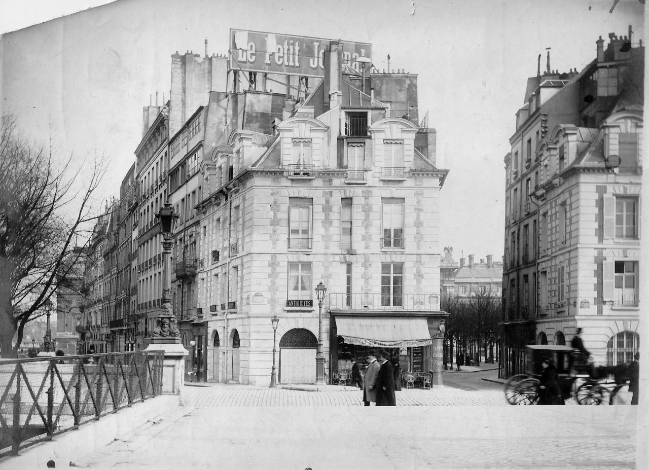 Façade restaurée en 1910