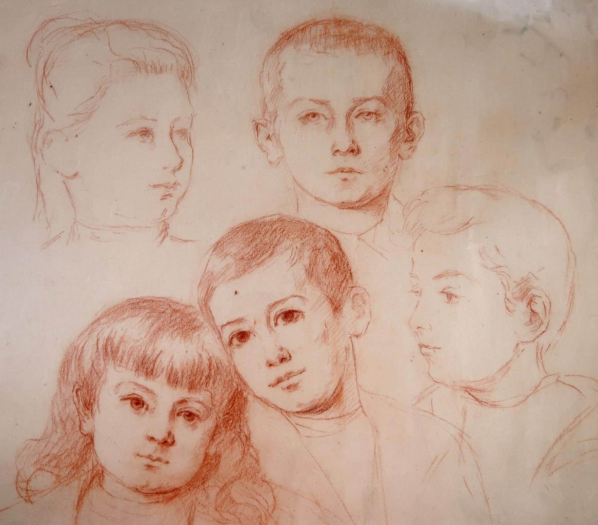 Madeleine, Henri, André, Jacques, François Balleyguier