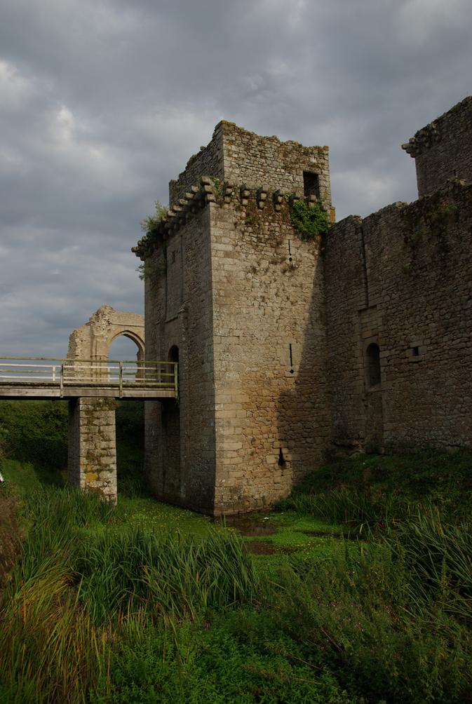 Château de Tiffauges en 2012.