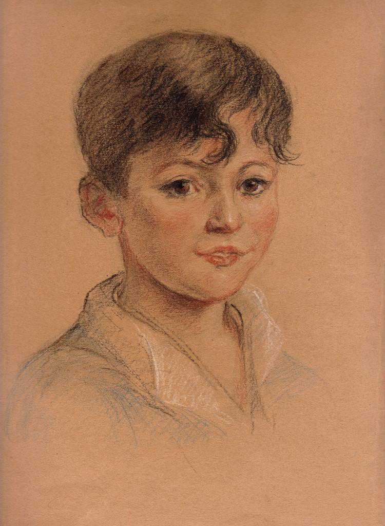 Jacques Balleyguier enfant 1930 environ