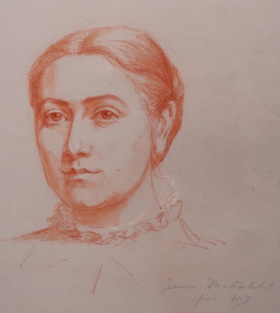 Jeanne Duchâtelet par sa soeur MD