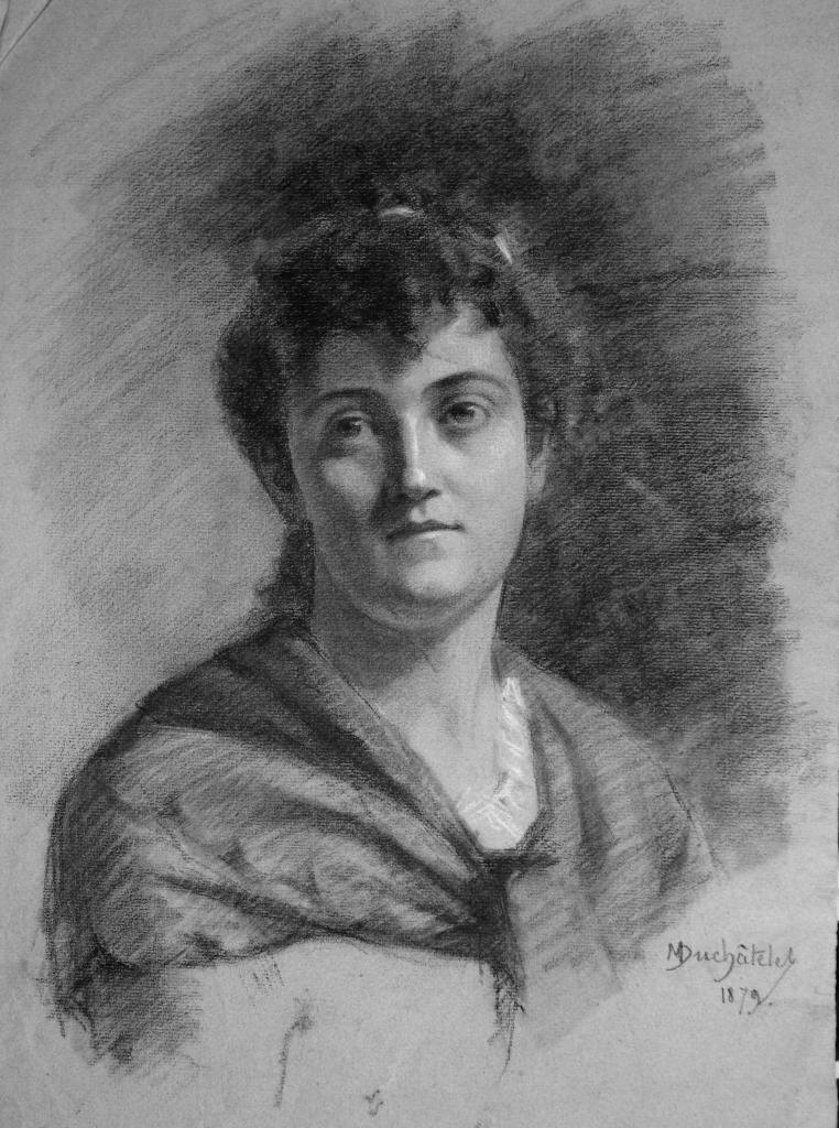 Portrait de Jeanne Mazeau en 1879