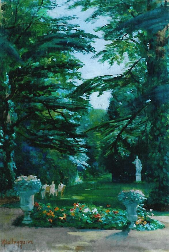 Quetigny, les Cèdres : Le parc