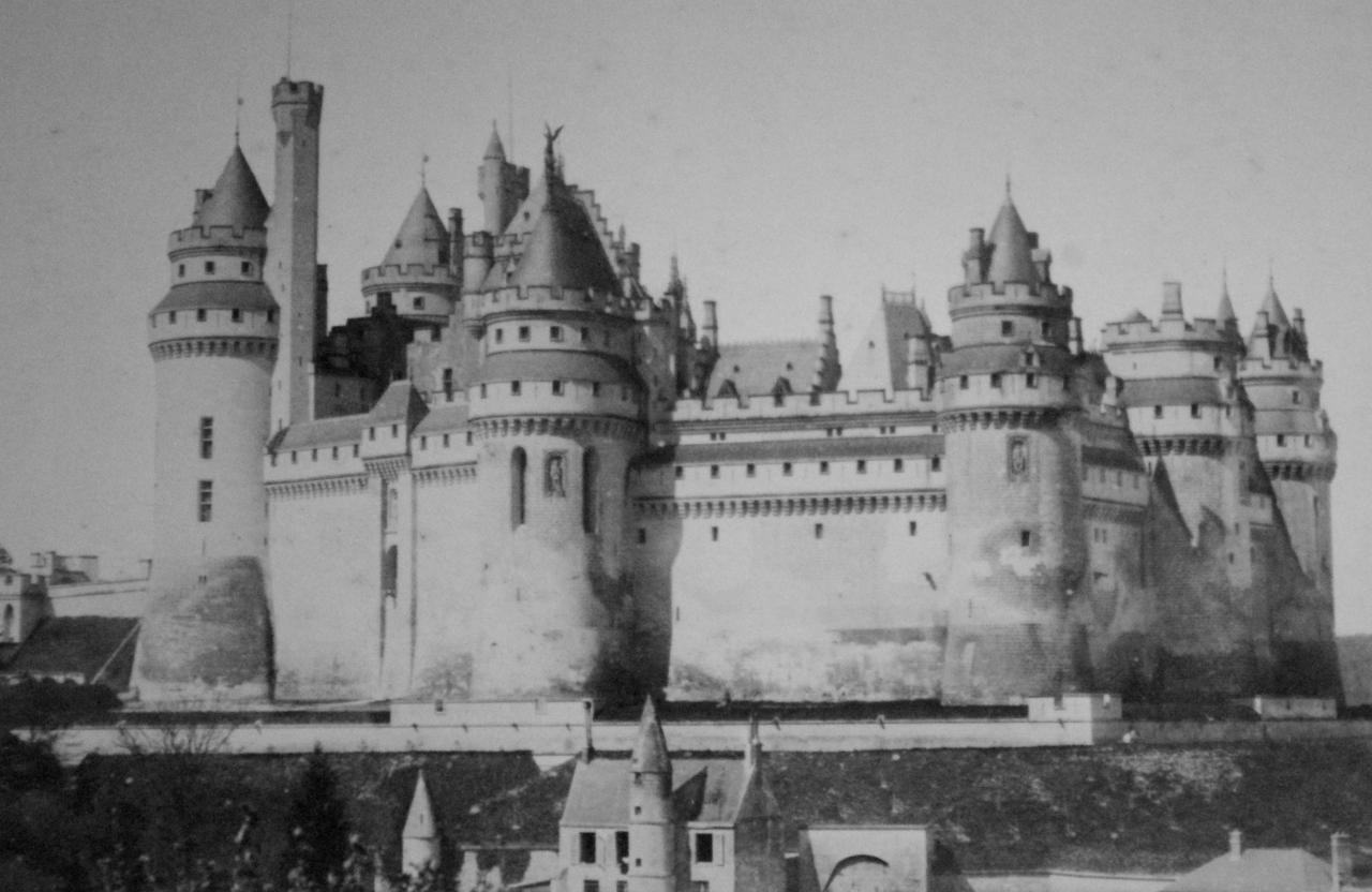 Château de Pierrefonds reconstruit