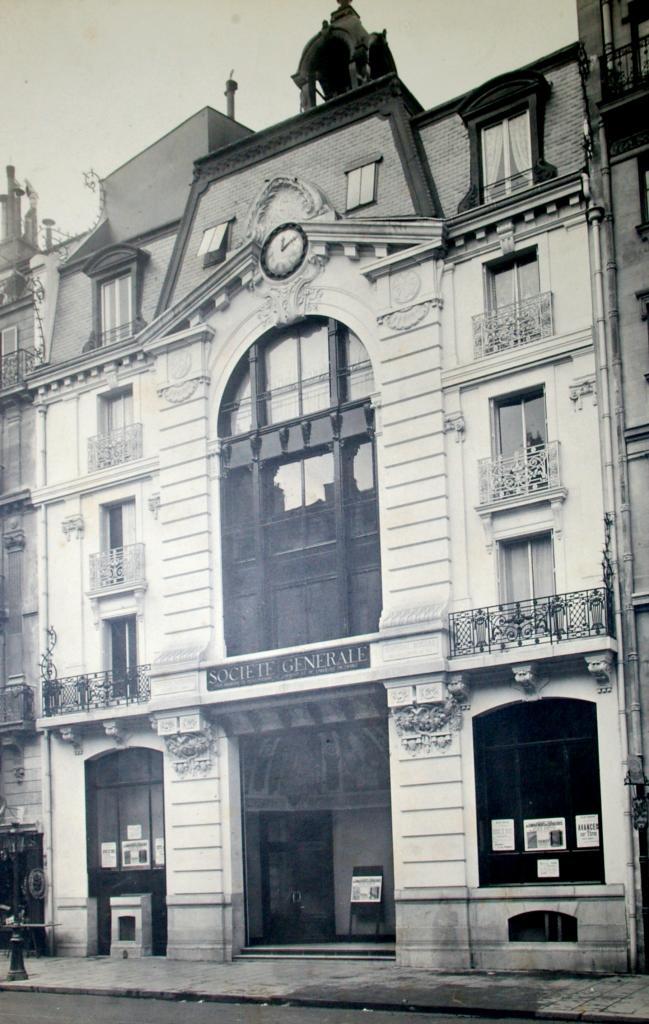 Siège de la Société Générale, 6 rue de Sèvres en 1902