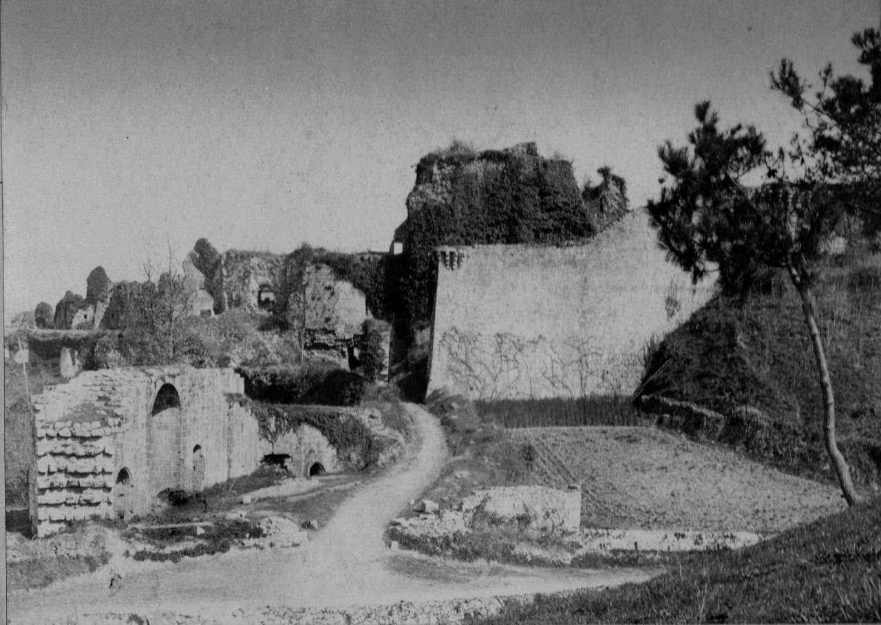 vue générale du site en 1889